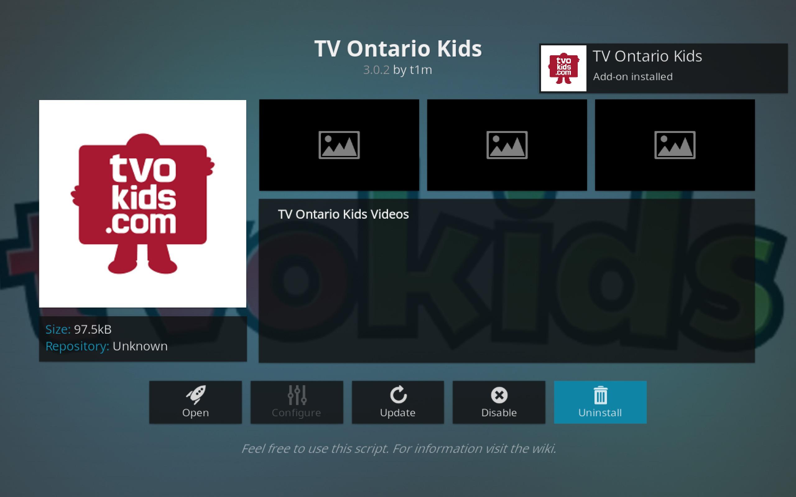 TV Ontario Kids Add-on
