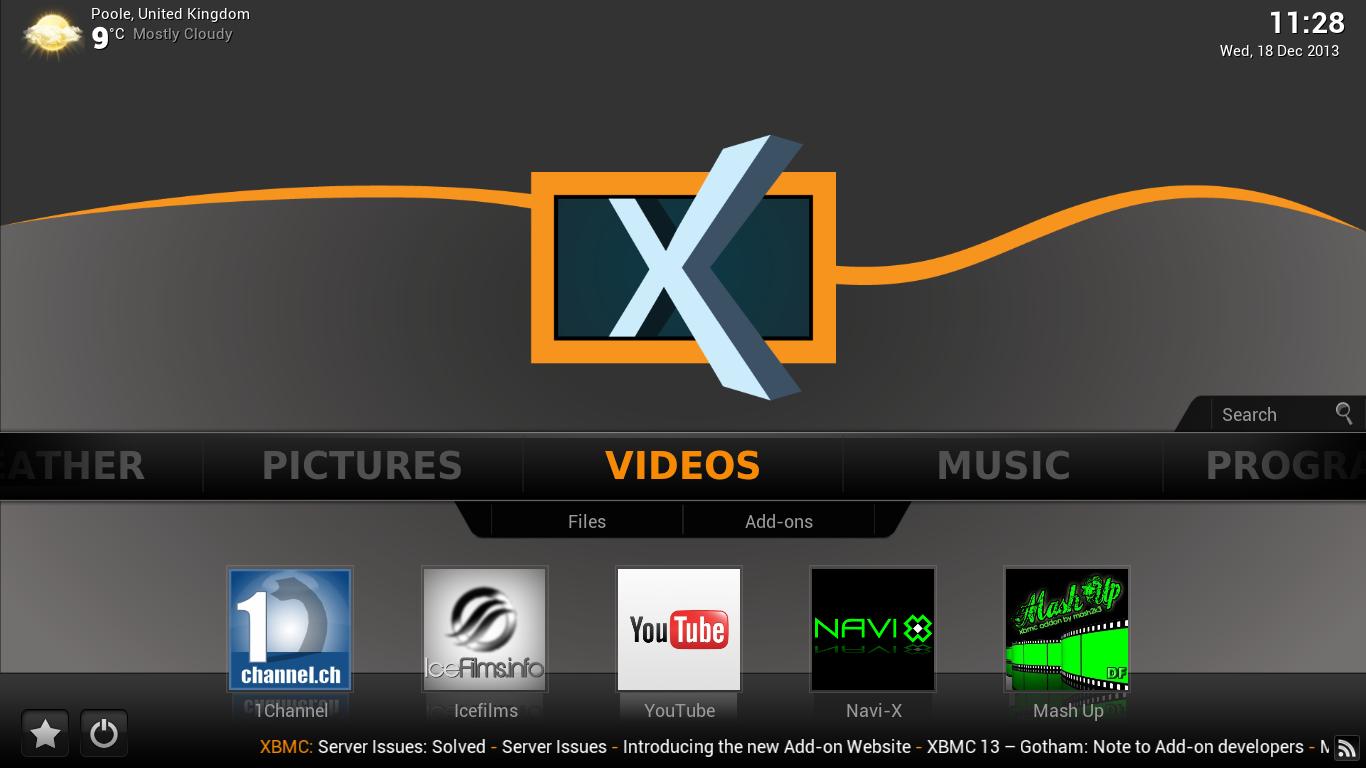 XBian Screenshot