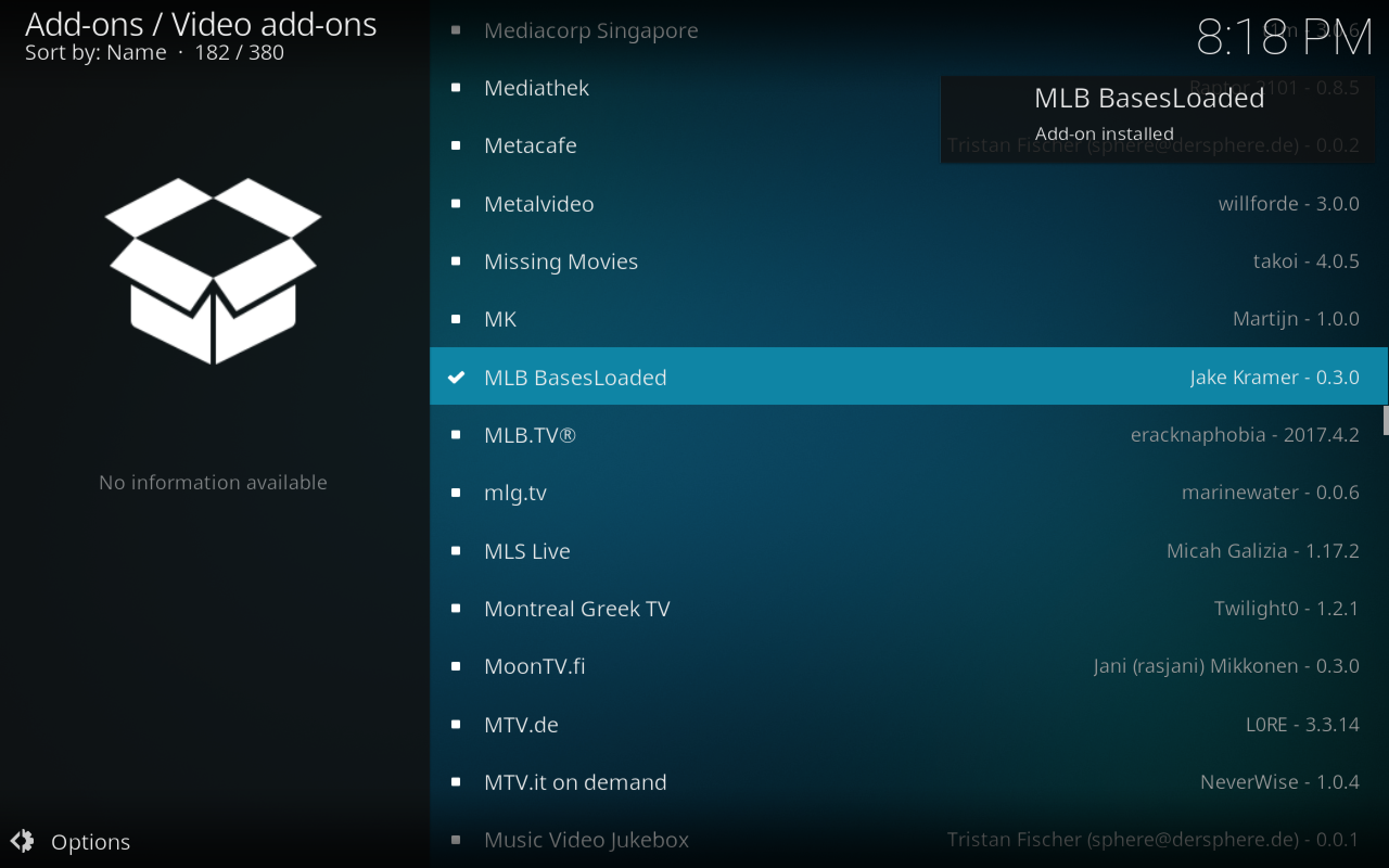 how to watch MLB games without cable basesloaded installed