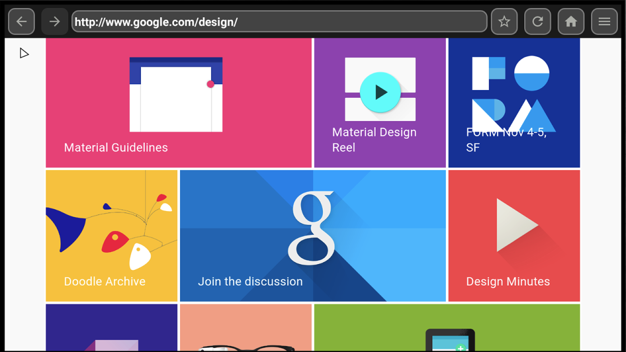 Kodi Android TV - Chrome browser - 3