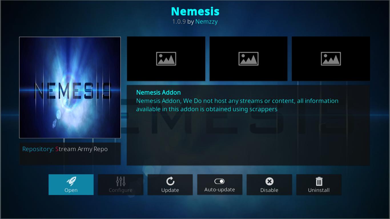 Nemesis Add-On Information