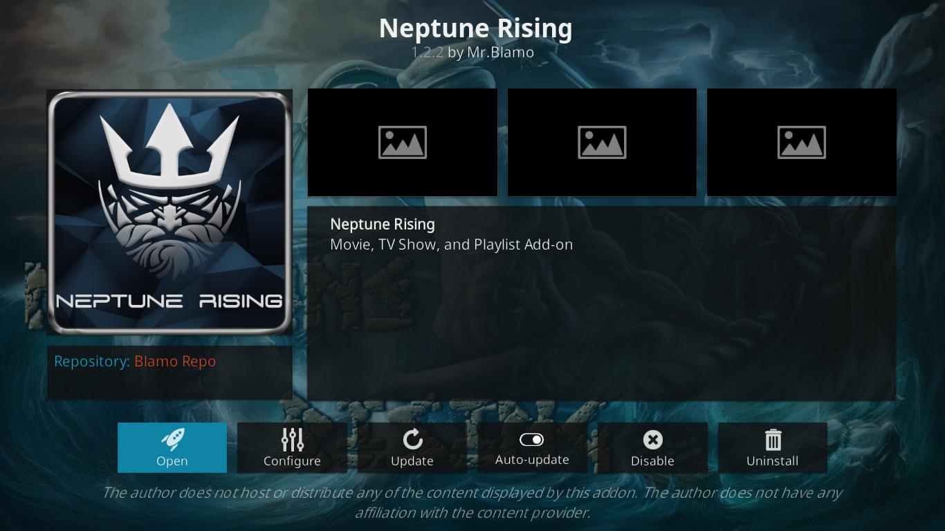 Neptune Rising Information