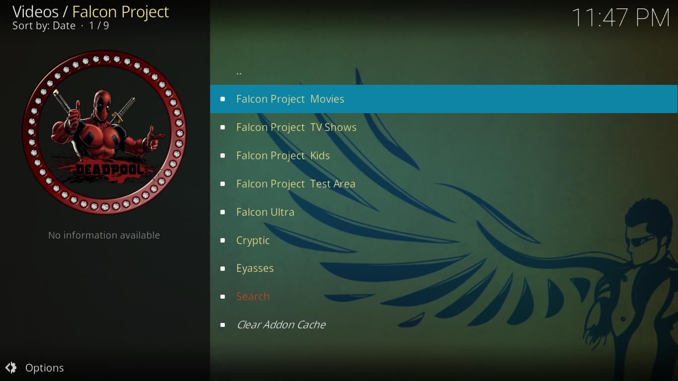 Project M Falcon