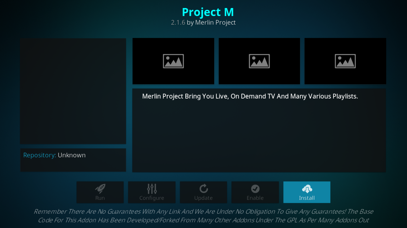 Project M Info