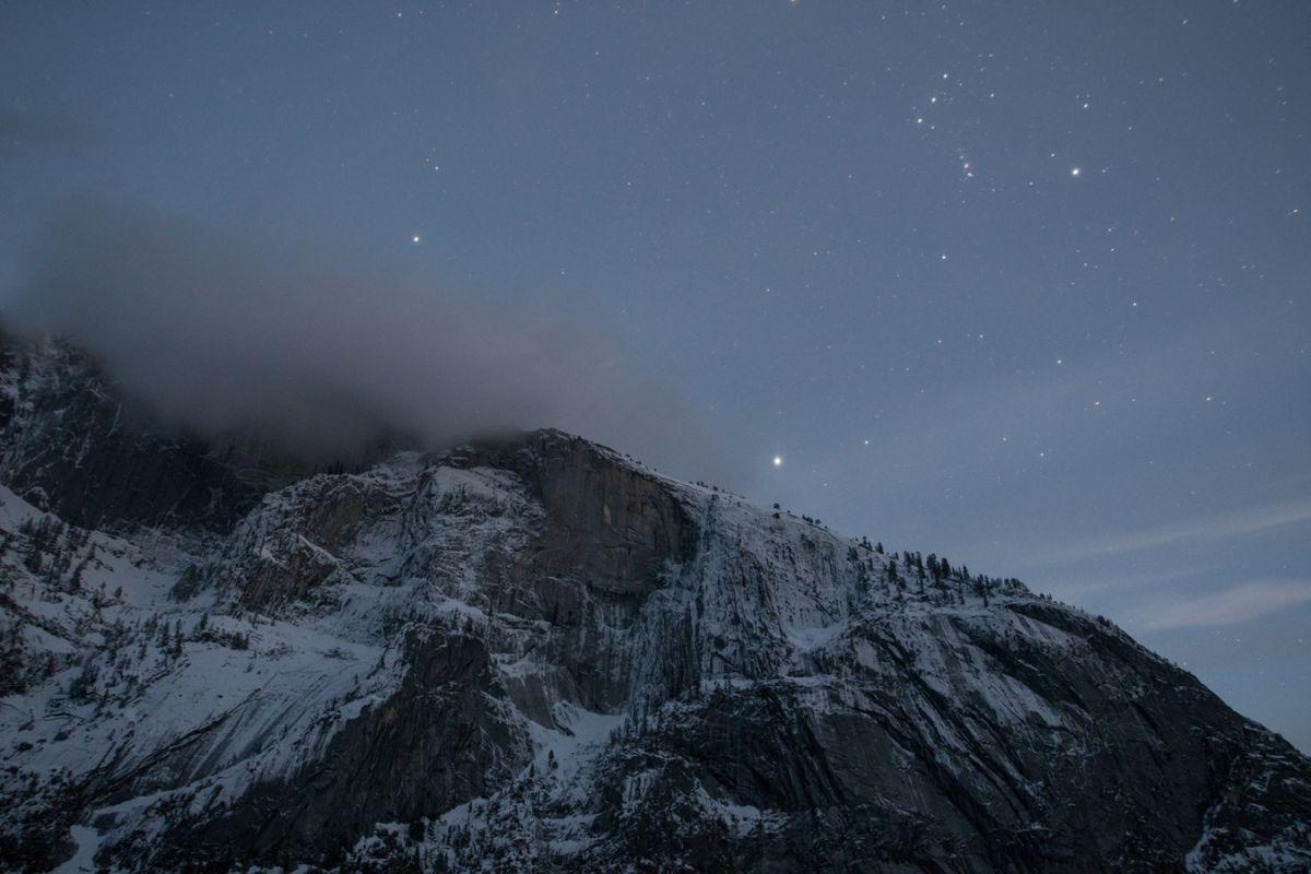 Rock Mountain Snow