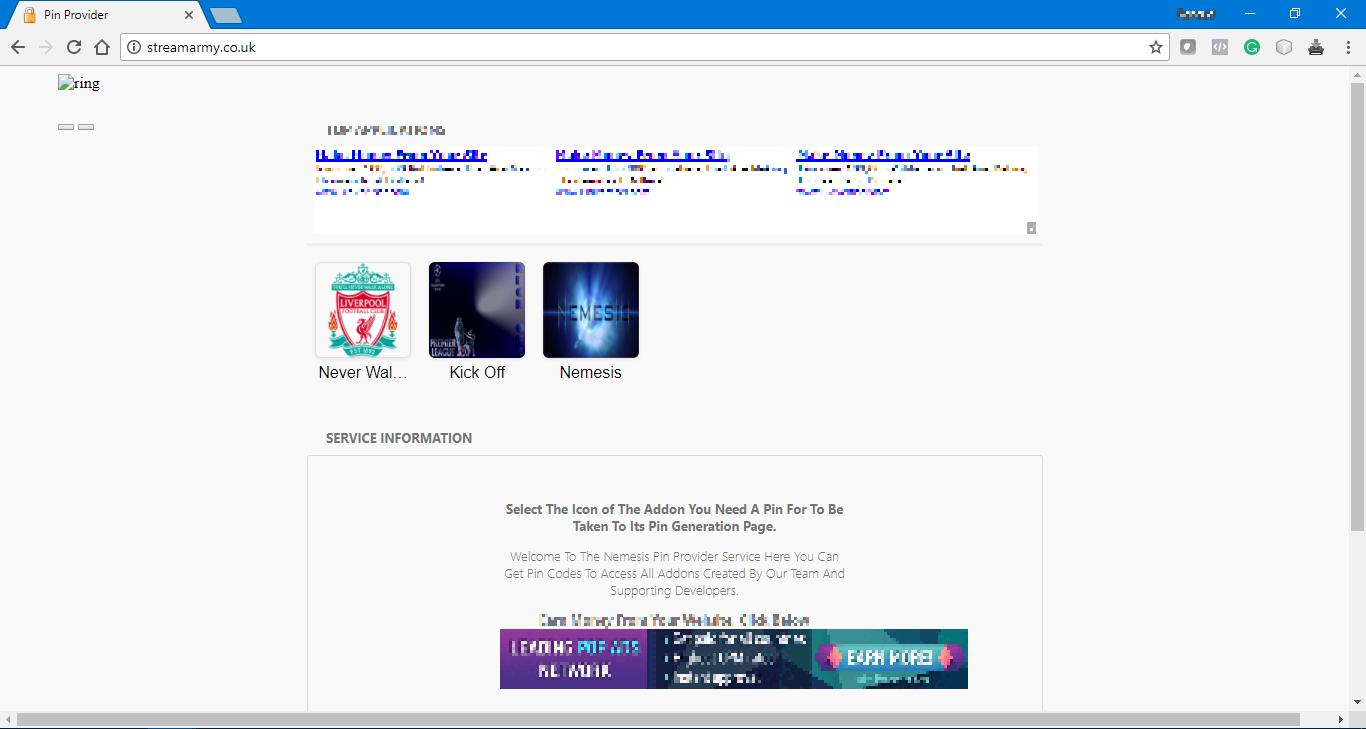 StreamArmy.co.uk Home