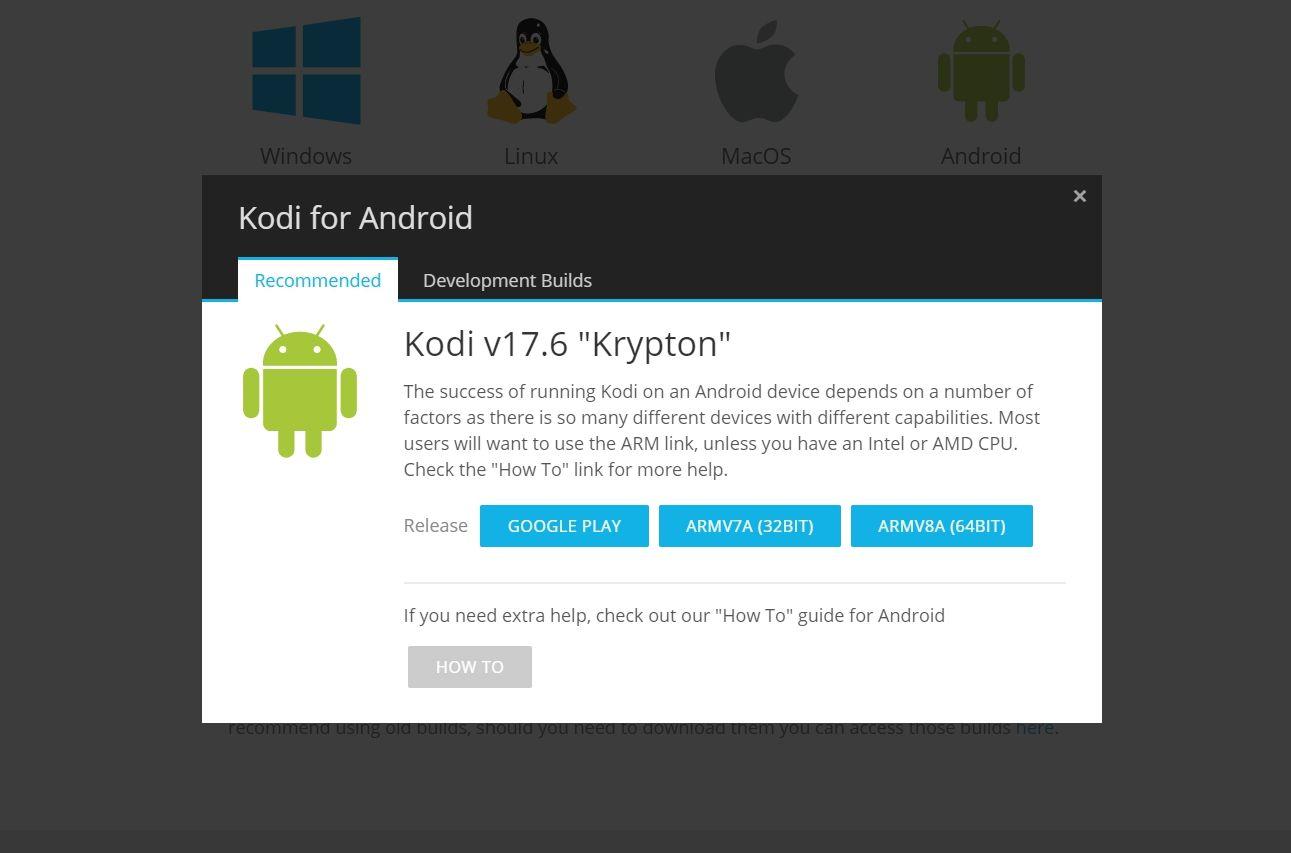 Update Kodi on Fire - Download screenshot - 2