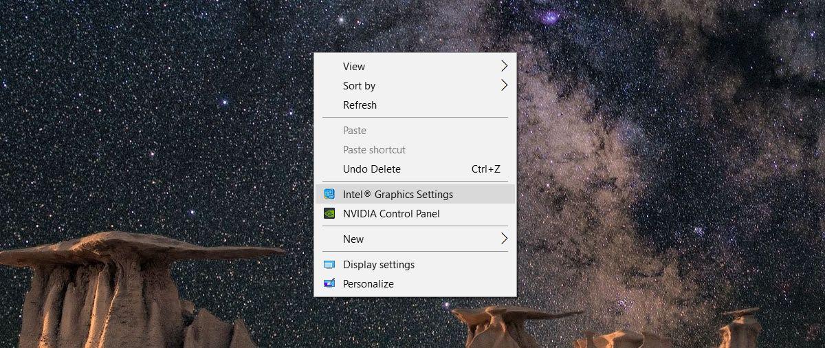 graphics card settings