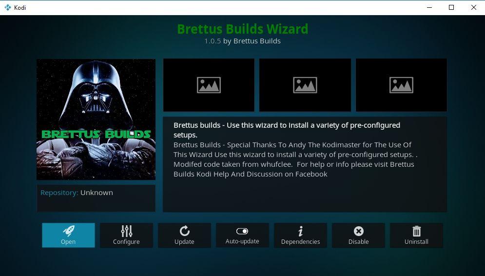 Best Kodi Wizard Addons 4 - Brettus Builds wizard
