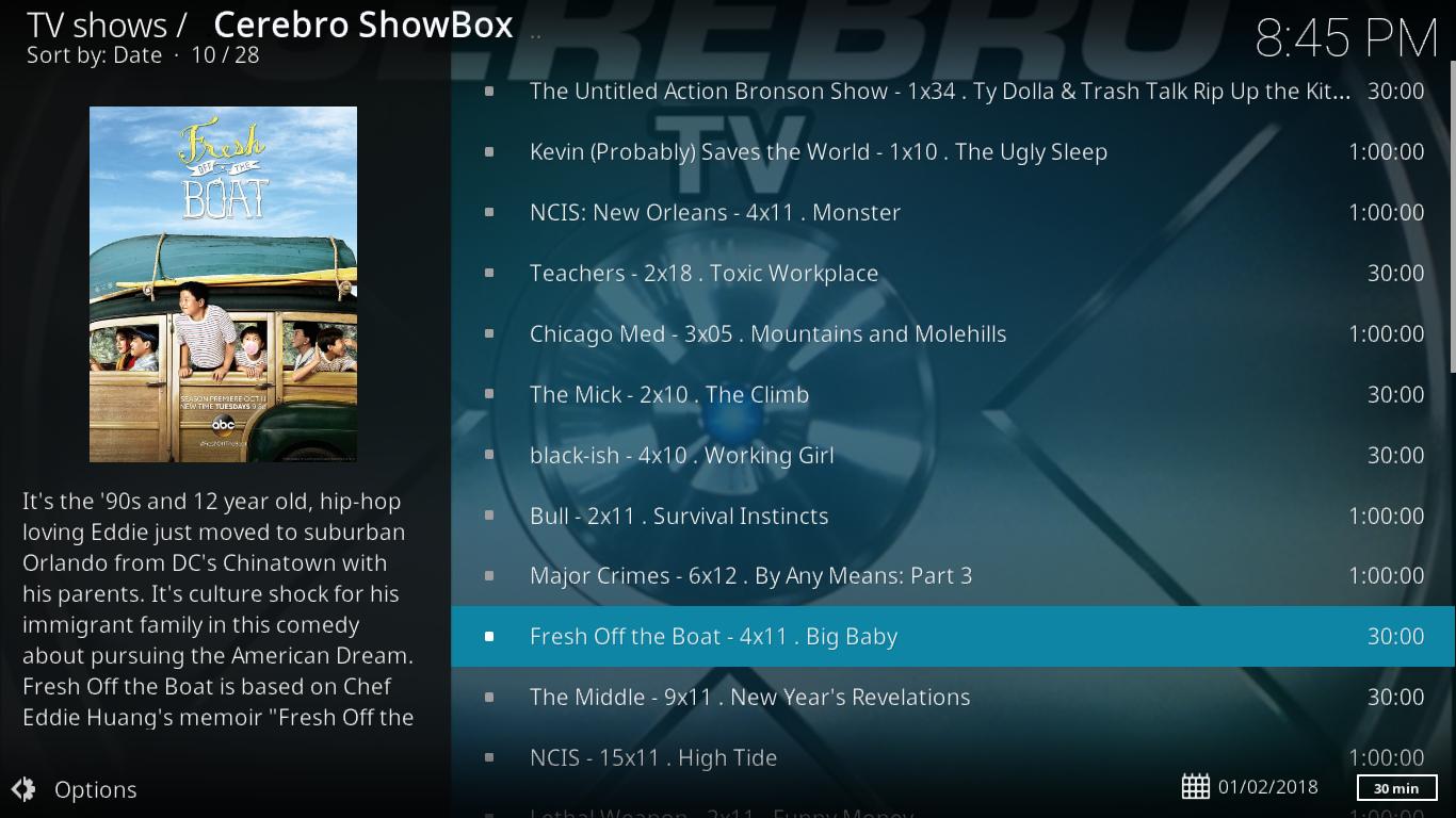 Cerbero Showbox Latest TV