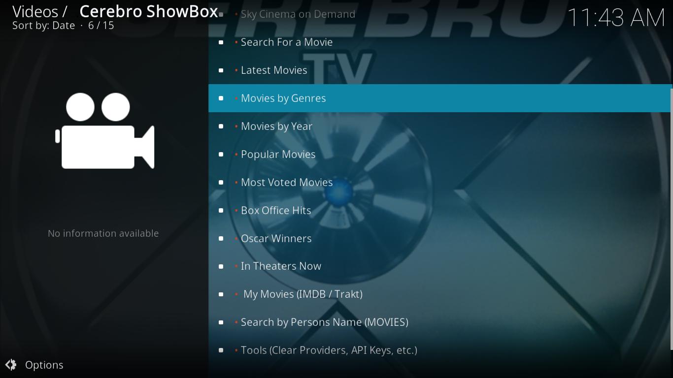 Cerebro Showbox Movies