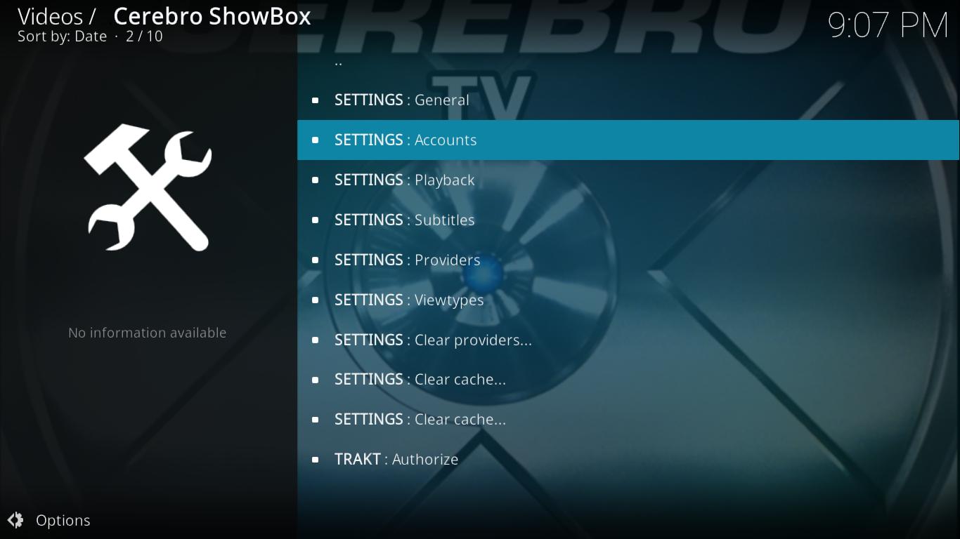 Cerebro Showbox Tools