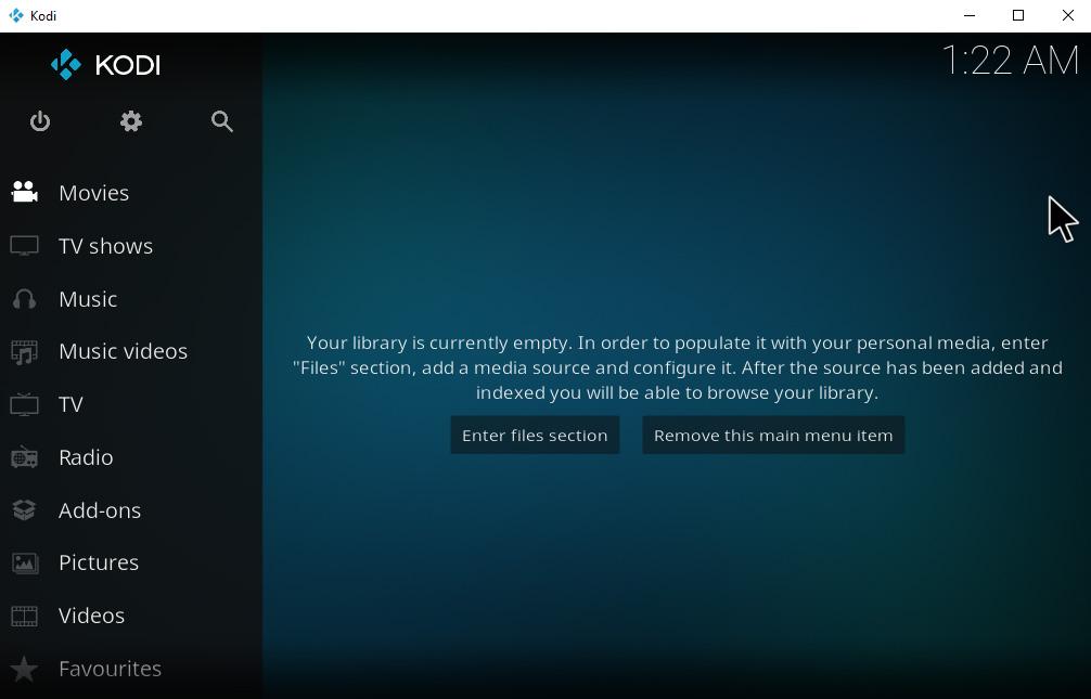 How To Set Up And Manage Kodi Profiles – Create New Profile – Kodi Home Screen