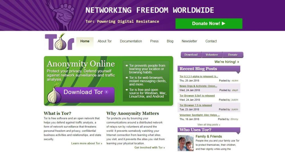 Interesting Deep Web Sites 4 - Tor Browser