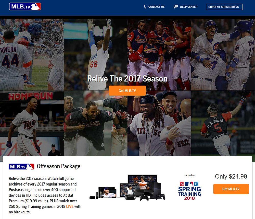 MLB.TV Offseason Package