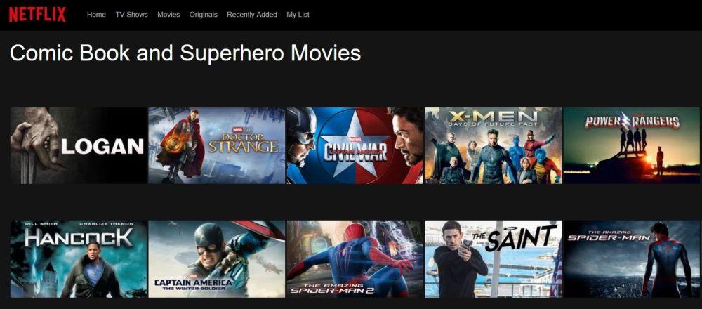 Netflix Secret Movie Codes 1 - Netflix home