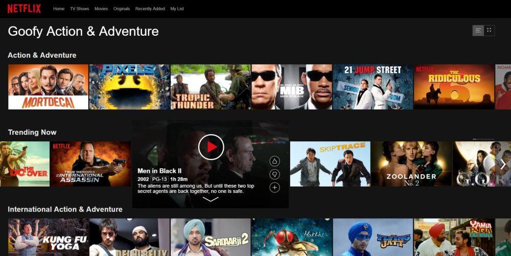 Netflix Secret Movie Codes 7 - Goofy movies