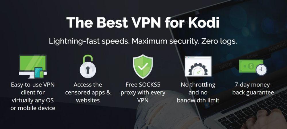PlayOn Browser Kodi Add-on 02 - IPVanish VPN