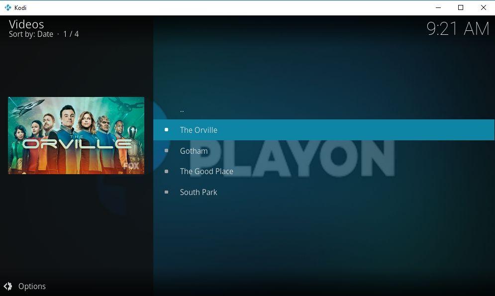 PlayOn Browser Kodi Add-on 09 - PlayOn free videos