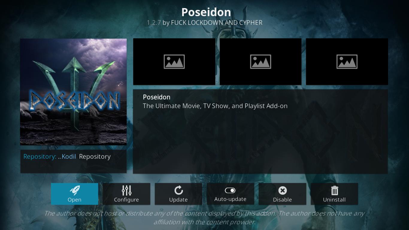 Poseidon Information Page