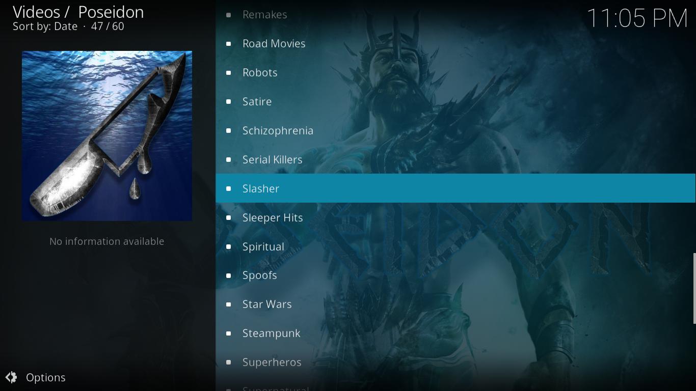 Poseidon Playlists