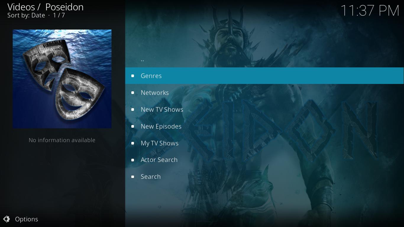 Poseidon TV Shows