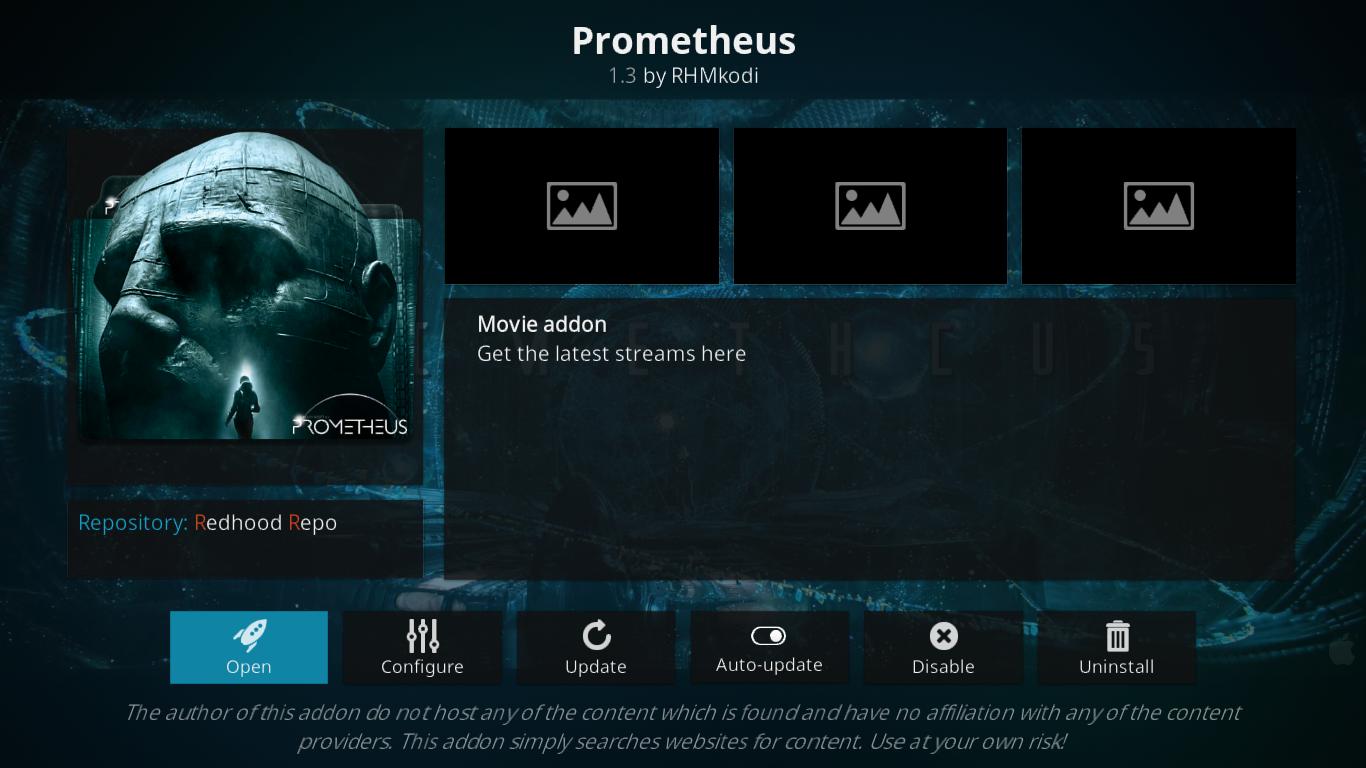 Prometheus Add-on Information