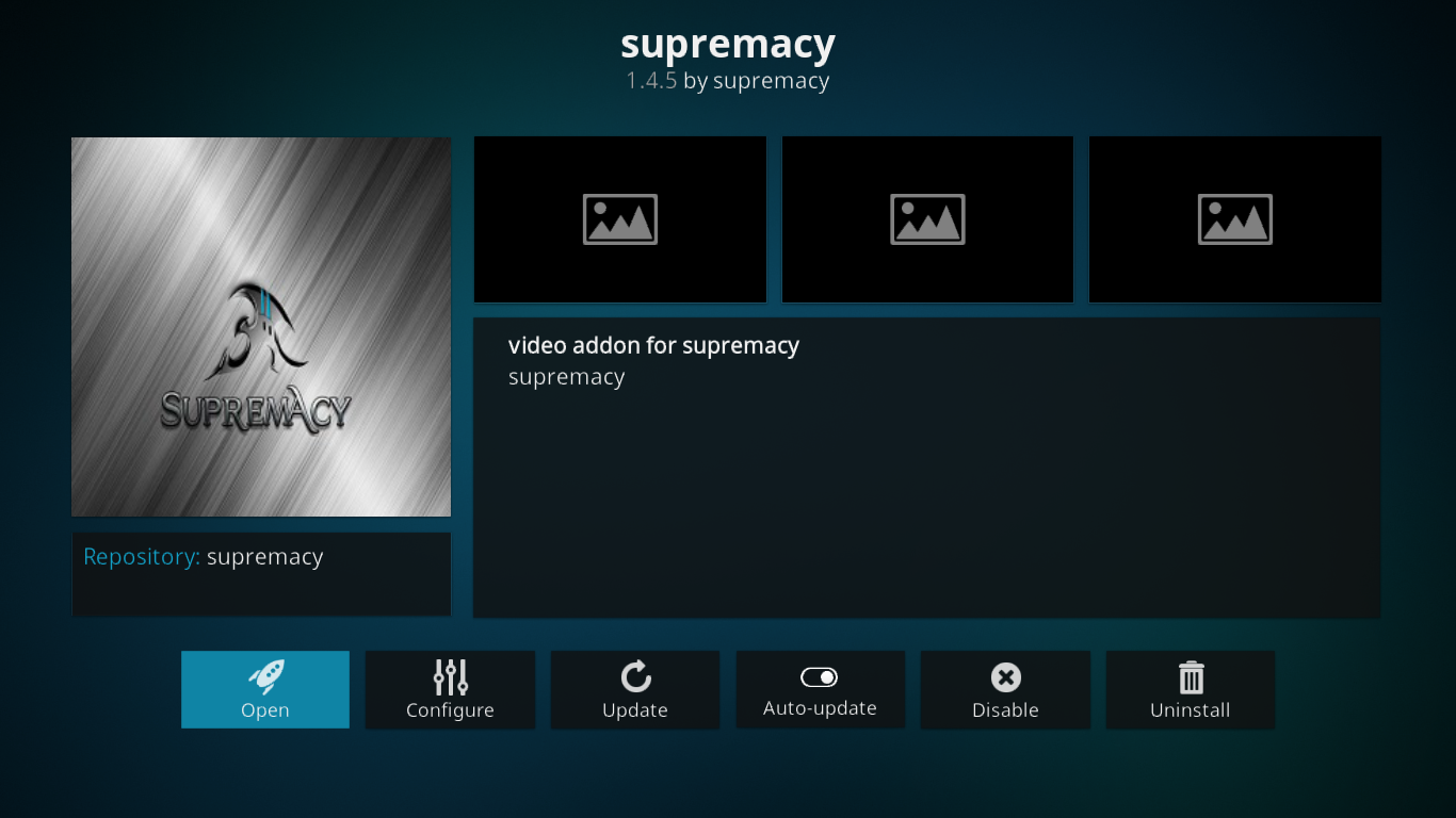 Supremacy Add-on Information