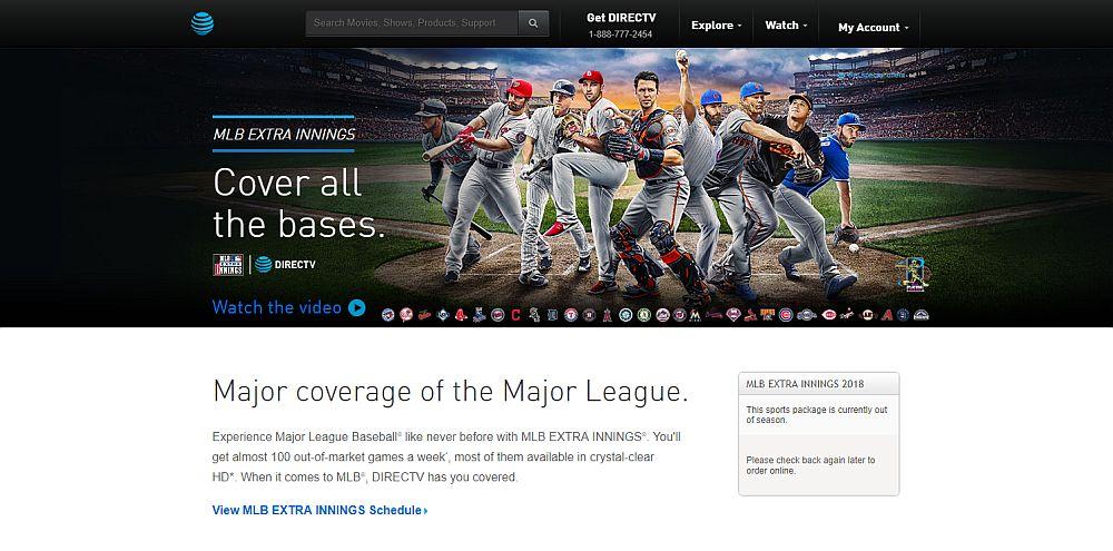 Watch the MLB on Directv