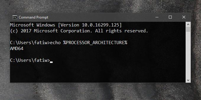 processor arch