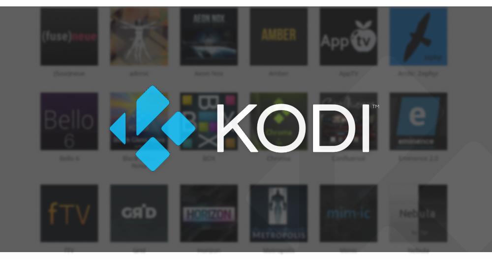 Best Official Kodi Skins 1