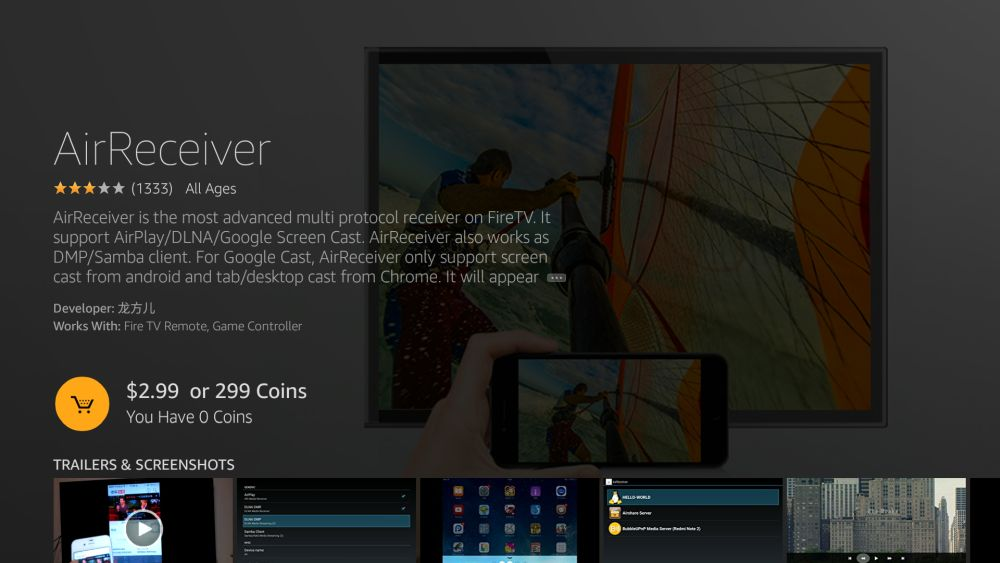 How to Mirror or Cast iPhone to Fire TV 10 - AirReceiver