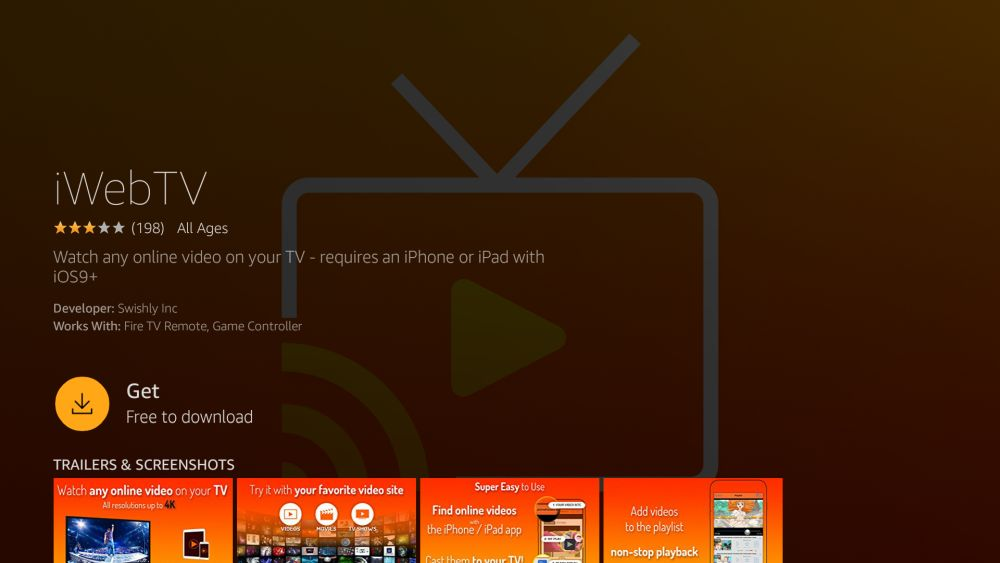 How to Mirror or Cast iPhone to Fire TV 5 - iWebTV