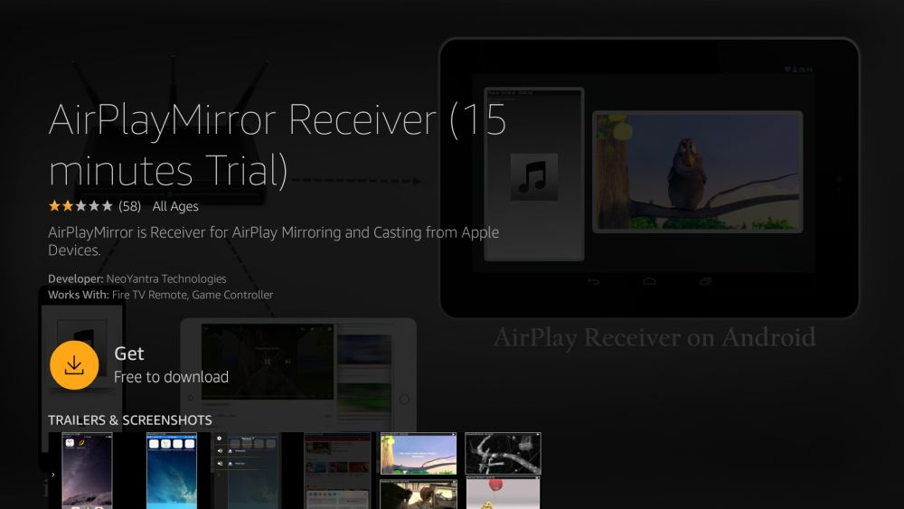 How to Mirror or Cast iPhone to Fire TV 7 - AllPlayMirror