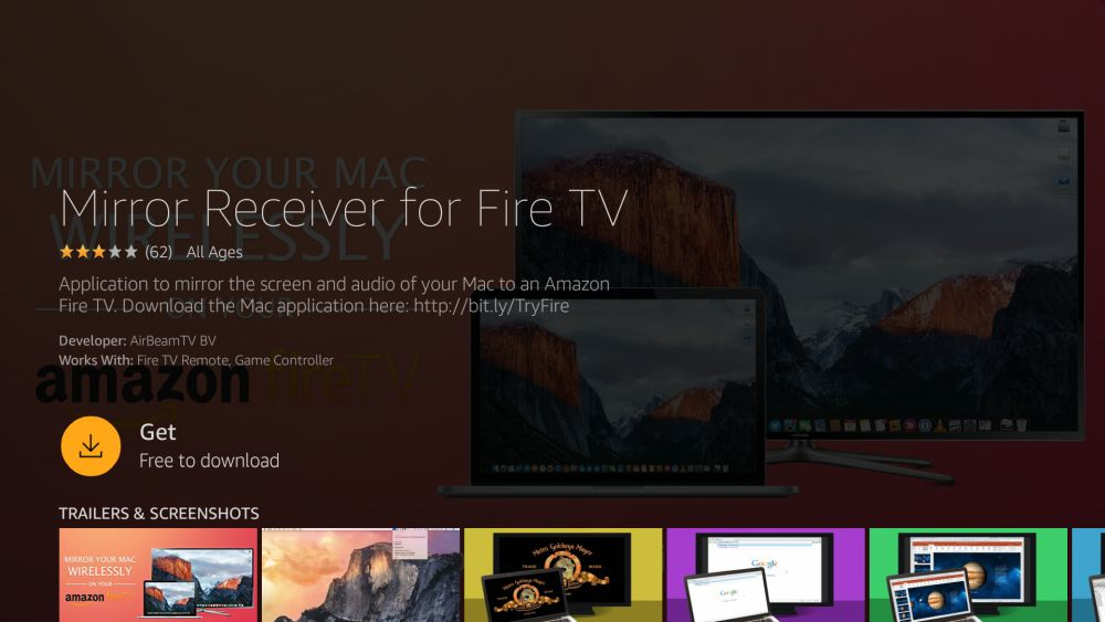 How to Mirror or Cast iPhone to Fire TV 8 - Mirror Receiver