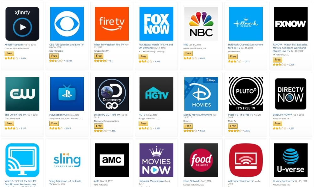 How to Set Up Fire TV for Beginners 4 - Fire TV Apps