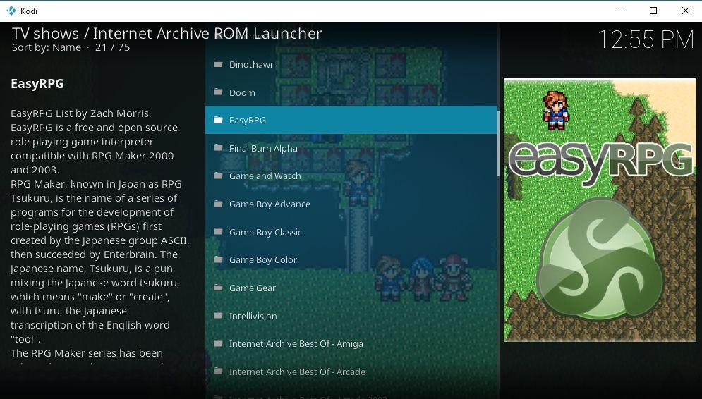 Install Controller on Kodi 3 - ROM games on Kodi