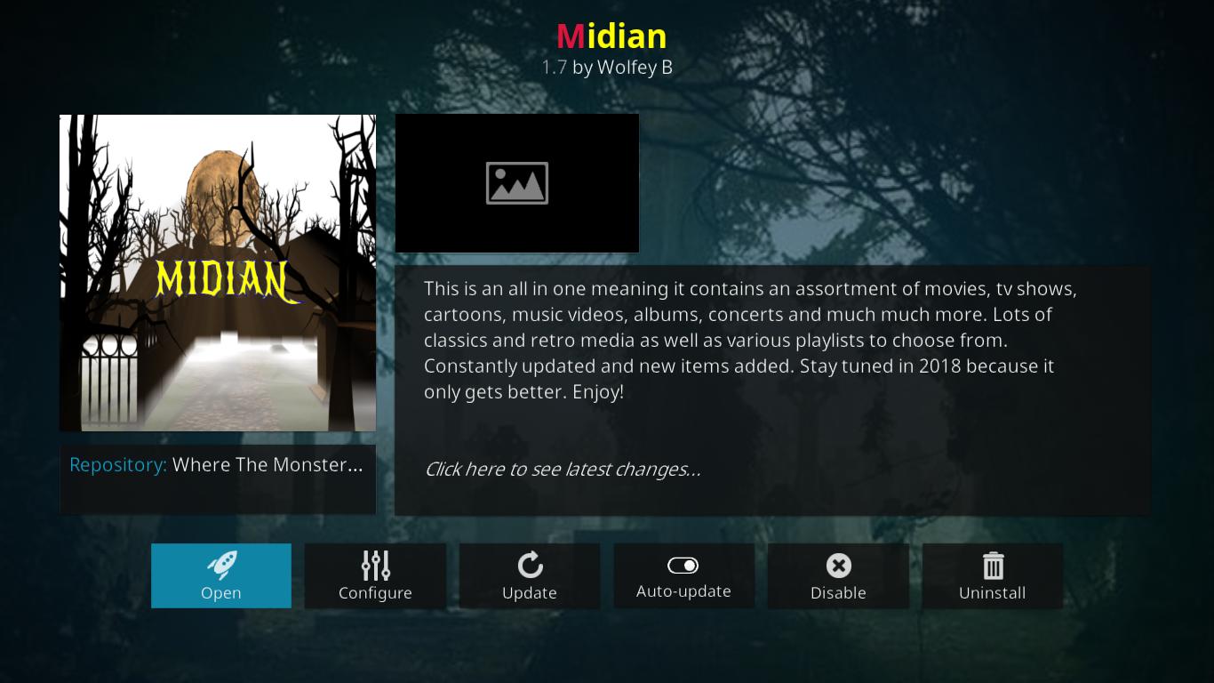 Midian Information