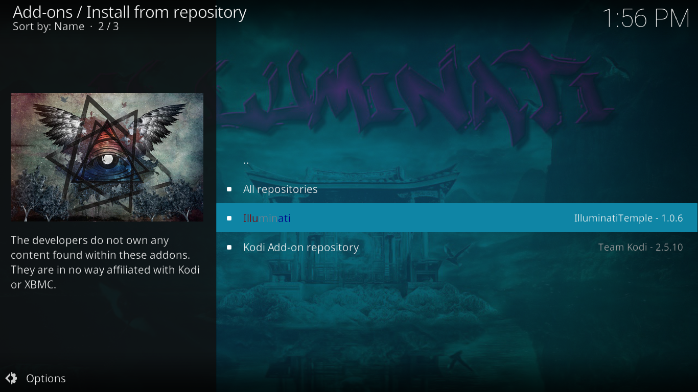 Select Illuminati Repository