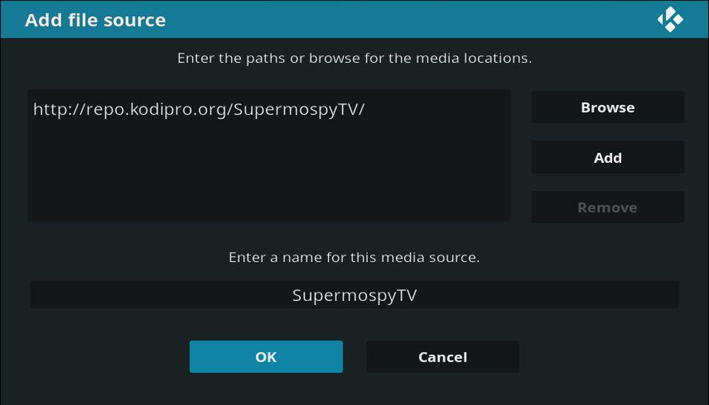 Super Mospy 3 – Add File Source