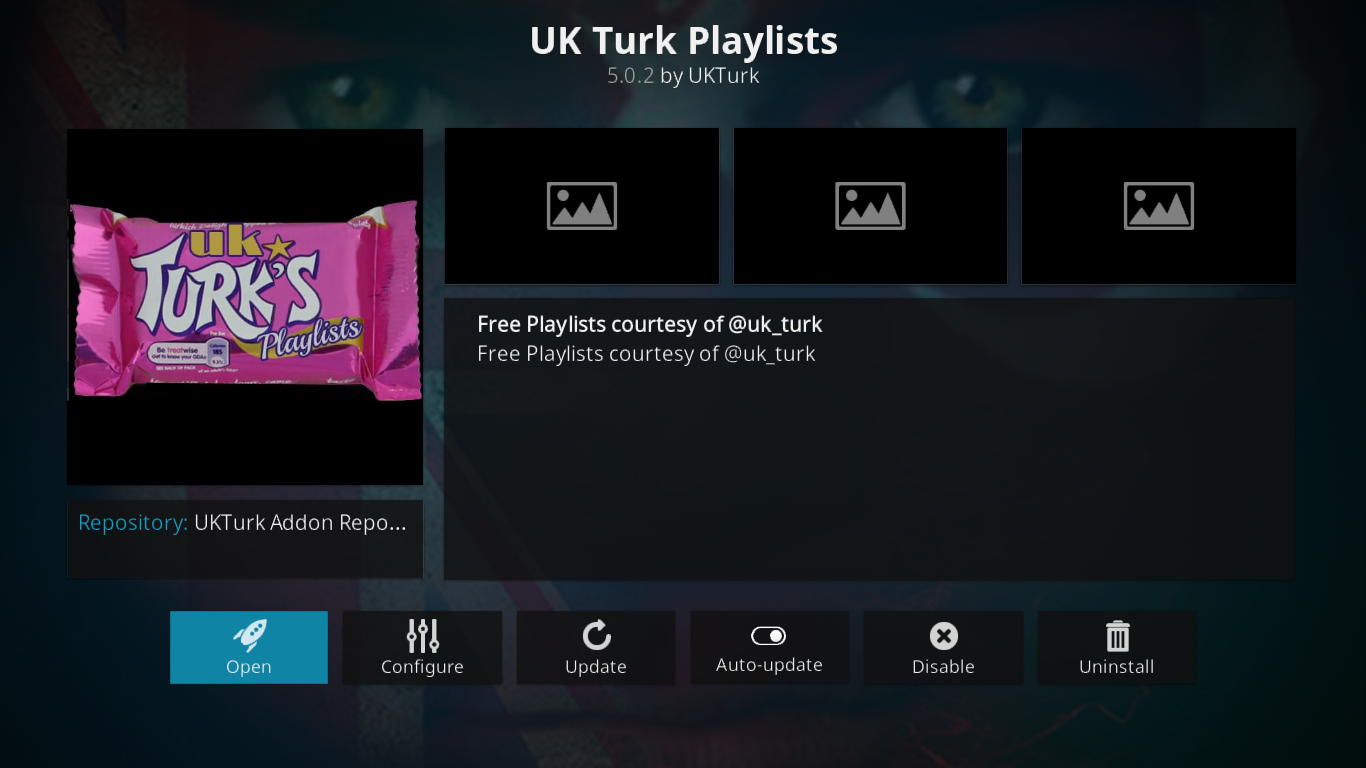 UK Turk Playlists Information