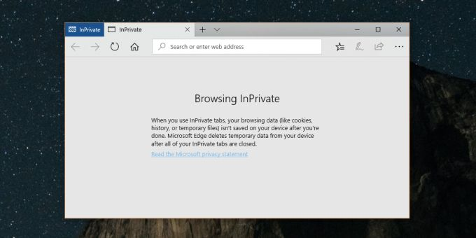 How To Launch Microsoft Edge In Private Mode In Windows 10