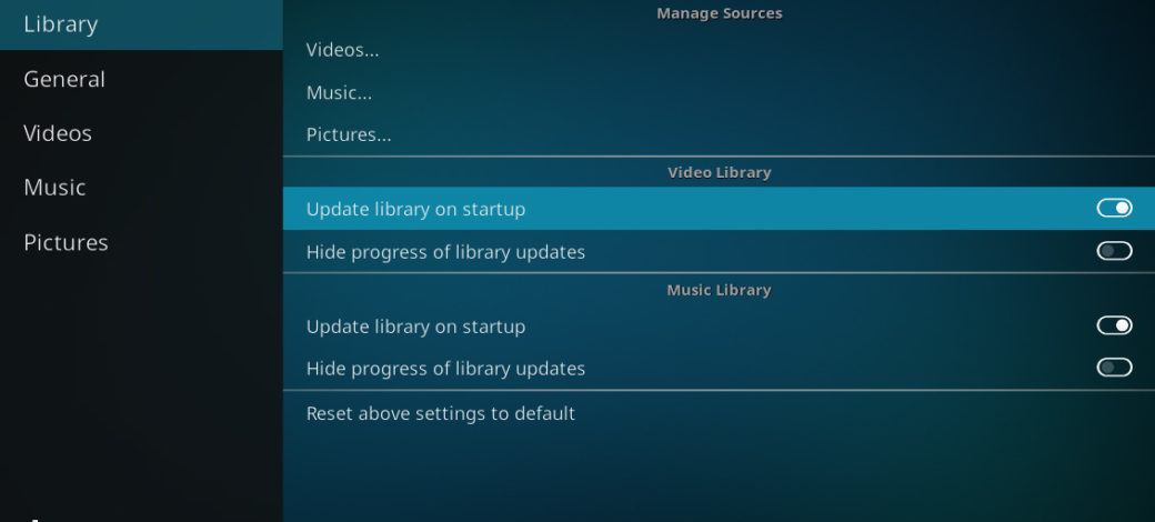 How to Update Kodi Library Both Automatically and Manually