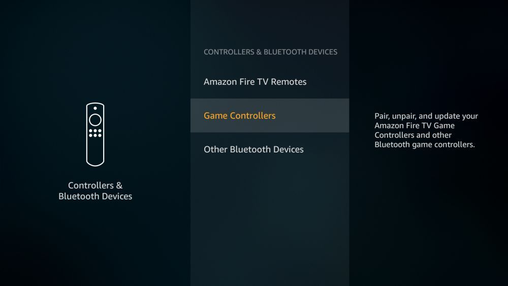 Best Third Party Game Controllers Fire TV 4 -Pair gamepad