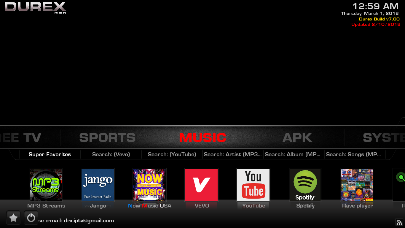 Durex Build Music
