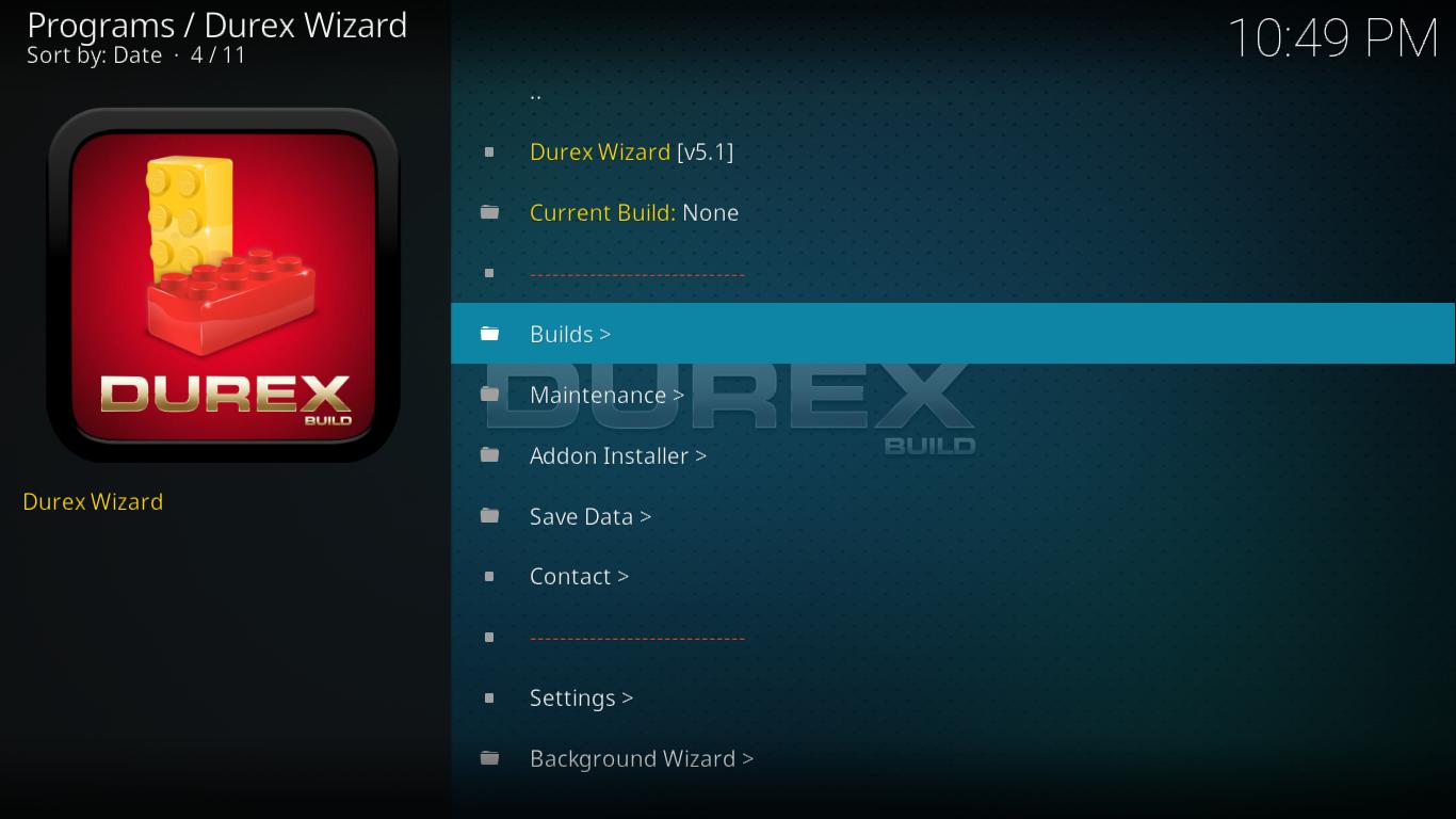 Durex Click Builds