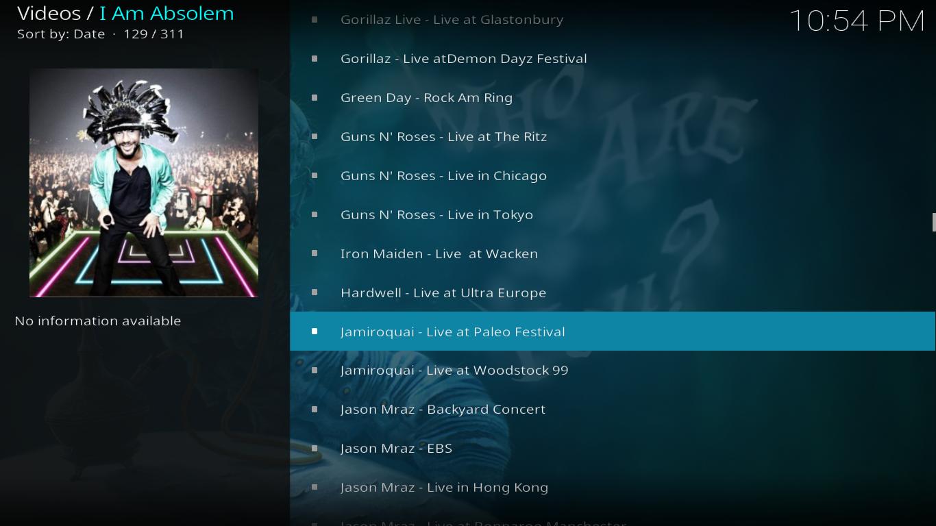 I Am Absolem Concerts