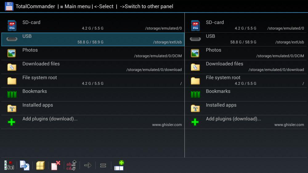Kodi on Fire TV USB 6 - USB file explorer