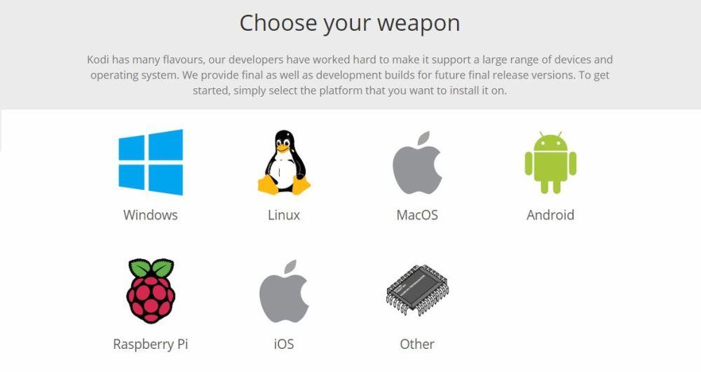 Kodi v18 Leia Alpha is Released 5 - Kodi download platforms