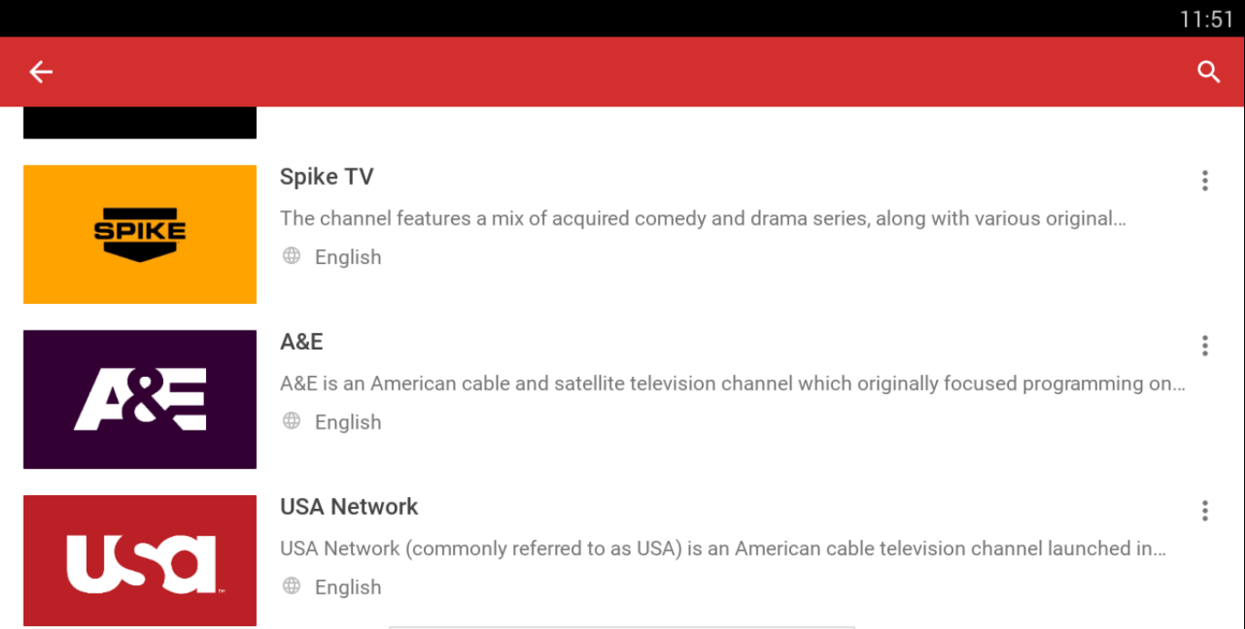 Mobdro Channels